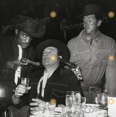 Gene Kelly,Dean Martin,Sammy Davis,Sammy Davis, Jr. Photos - Sammy Davis Jrgene Kellydean Martin Share Boomtown Photo Nate CutlerGlobe Photos Inc