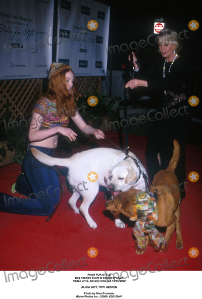 Tippi Hedren,Alicia Witt Photo - Archival Pictures - Globe Photos - 94268