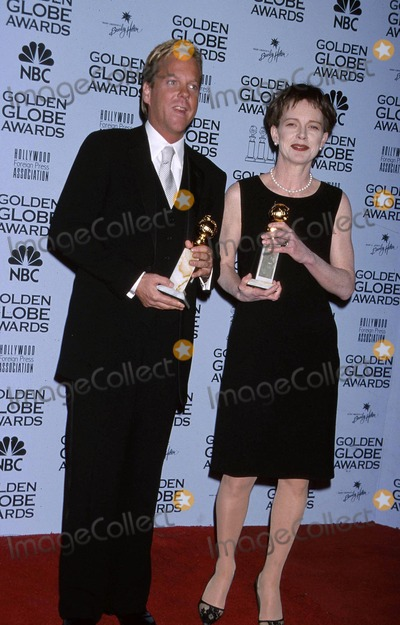 Judy Davis,KEIFER SUTHERLAND Photo - Archival Pictures - Globe Photos - 80211