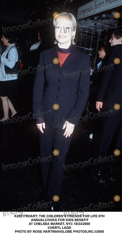 Cheryl Ladd Photo -  the Childrens Friends For Life 8th Annualcooks For Kids Benefit at Chelsea Market NYC 10232000 Cheryl Ladd Photo by Rose HartmanGlobe Photosinc