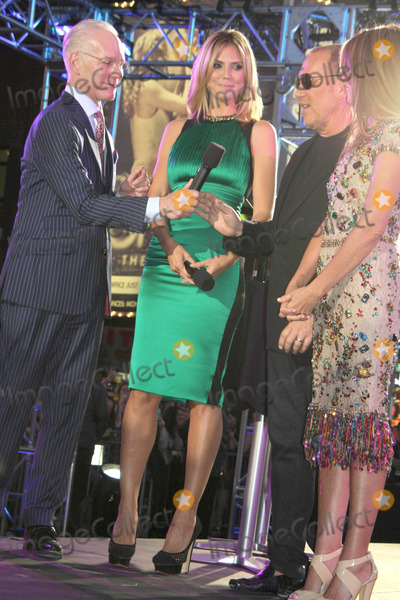 Michael Kors,Nina Garcia,Tim Gunn,Heidi Klum Photo - Project Runway 10th Anniversary Show - NYC