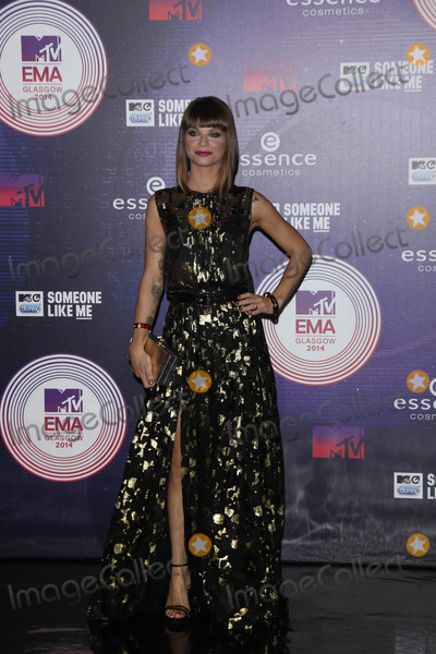 Alessandra Amoroso Photo - Singer Alessandra Amoroso attends the 20th Mtv Emas in Glasgow Uk on 09 November 2014 Photo Alec Michael Photo by Alec Michael- Globe Photos Inc