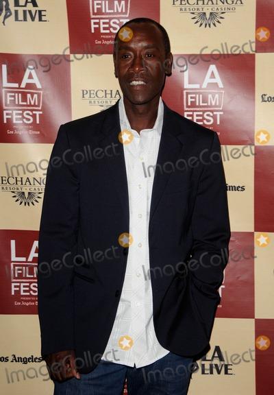 Don Cheadle Photo - the Los Angeles Film Festival Premiere of the Guard