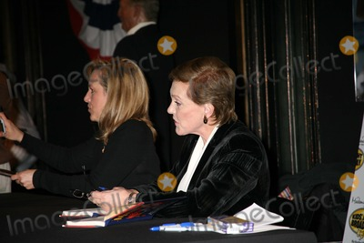 Emma Walton Hamilton Photo - Julie Andrews and Daughter Emma Walton Hamilton National Ambassadors For This Years Kids Night on Broadway at the Ribbon Cutting Ceremony at Madame Tussauds in New York City on 01-30-2007 Photo by Sonia Moskowitz-Globe Photos