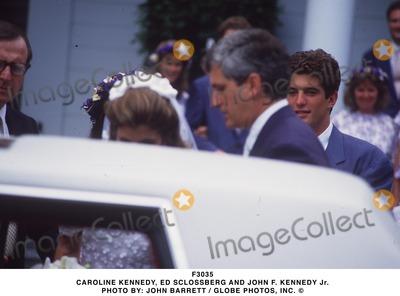 Caroline Kennedy Photo - Caroline Kennedy Ed Sclossberg and John F Kennedy Jr Photo by John Barrett  Globe Photos Inc