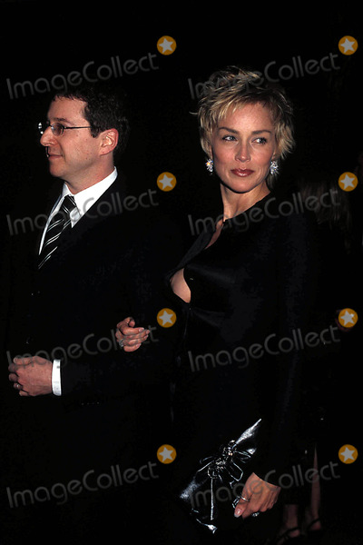 Clive Davis,Sharon Stone Photo - Archival Pictures - Globe Photos - 54274