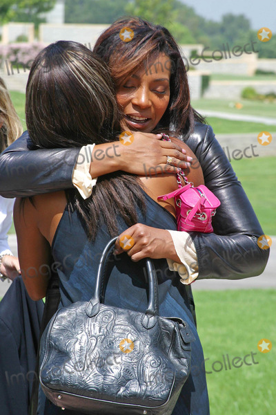 Rick James,Nona Gaye Photo - Rick James Memorial Service