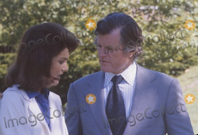 Jacqueline Kennedy Onassis Photo - Ted Kennedy Jacqueline Kennedy Onassis 1979 Photo by Pt-Globe Photos Inc