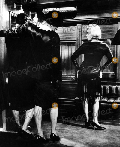 Marilyn Monroe,Tony Curtis,Jack Lemmon Photo - Archival Pictures - Globe Photos - 71962