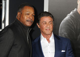 Carl Weathers Photo - 19 November 2015 - Westwood California - Carl Weathers Sylvester Stallone Creed Los Angeles Premiere held at the Regency Village Theatre Photo Credit Byron PurvisAdMedia
