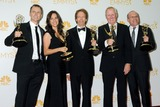 Bertram van Munster Photo - 25 August 2014 - Los Angeles California - Phil Keoghan Elise Doganieri Jerry Bruckheimer Bertram van Munster Jonathan Littman 66th Annual Primetime Emmy Awards - Press Room held at Nokia Theatre LA Live Photo Credit Becky PoliakoffAdMedia