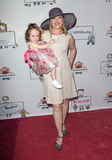 Adrienne Frantz Photo - 30 April 2017 - Los Angeles California - Amelie Irene Bailey Adrienne Frantz Zimmer Childrens Museum We All Play Event Photo Credit AdMedia