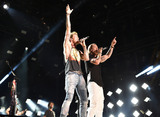 Tyler Hubbard Photo - 11 June 2015 - Nashville Tennessee - Brian Kelley Tyler Hubbard Florida Georgia Line 2015  CMA Music Festival Nightly Concert held at LP Field Photo Credit Laura FarrAdMedia