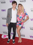 Emma Slater Photo - 17 September  2015 - Hollywood California - Hayes Grier Emma Slater Arrivals for the 5th Annual Streamy Awards presented by Tubelifter Dick Clark Productions and VH1 held at Hollywood Palladium Photo Credit Birdie ThompsonAdMedia