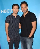 Aaron Tveit Photo - 02 April 2015 - Pasadena California - Aaron Tveit Daniel Sunjata Arrivals for the NBC Universal Summer Press Day held at Langham Hotel Photo Credit Birdie ThompsonAdMedia