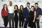 Henri Simmons Photo - 17 May 2015 - Burbank California - Hayley Atwell Henry Simmons Ming-Na Wen Chloe Bennett Brett Dalton Elizabeth Henstridge Luke Mitchell Disney Media Distribution International Upfronts held at Walt Disney Studios Photo Credit Byron PurvisAdMedia