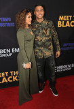 Paige Hurd Photo - 29 March 2016 - Hollywood California - Paige Hurd Quincy Brown Meet The Blacks Los Angeles Premiere held at ArcLight Hollywood Photo Credit Winston BurrisAdMedia