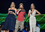 Andrew David Photo - 10 June 2015 - Nashville Tennessee - Erin Andrews David Spade Brittany Snow 2015 CMT Music Awards held at Bridgestone Arena Photo Credit Laura FarrAdMedia