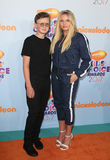 Alli Simpson Photo - 11 March 2017 -  Los Angeles California - Tom Simpson Alli Simpson Nickelodeons Kids Choice Awards 2017 held at USC Galen Center Photo Credit Faye SadouAdMedia