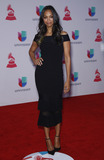 Zoe Saldana Photo - 19 November 2015 - Las Vegas NV -  Zoe Saldana  2015 Latin Grammy Awards arrivals at MGM Grand Garden Arena Photo Credit MJTAdMedia