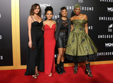 Aisha Hinds Photo - 28 February 2017 - Westwood California - Chrissy Teigen Amirah Vann Misha Green Aisha Hinds WGN Americas Underground Season 2 Premiereheld at Westwood Village Photo Credit AdMedia