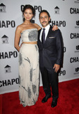 Abril Schreiber Photo - 19 April 2017 - Los Angeles California - Abril Schreiber and Humberto Busto Univisions El Chapo Original Series Premiere Event held at The Landmark Theatre Photo Credit AdMedia