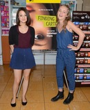 Anna Jacoby-Heron Photo - 12 August 2014 - Burbank California - Kathryn Prescott Anna Jacoby- Heron Cast of MTVs Finding Carter celebrate the twins 17th birthday at Baskin-Robbins in Burbank Ca Photo Credit Birdie ThompsonAdMedia
