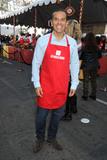 Antonio Villaraigosa Photo - 25 November 2015 - Los Angeles California - Antonio Villaraigosa 2015 Los Angeles Mission Thanksgiving Meal for the Homeless held at the LA Mission Photo Credit Byron PurvisAdMedia