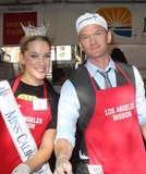 Anne Douglas Photo - 21 November 2012 - Los Angeles California - Miss California 2012 Leah Cecil Neil Patrick Harris Kirk And Anne Douglas Host 8th Annual Thanksgiving For Skid Row Homeless At Los Angele Mission Held At The Los Angeles Mission Photo Credit Kevan BrooksAdMedia