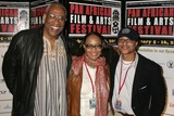 Ayuko Babu Photo - Ayuko Babu with Tamika Lamison and Clinton H Wallaceat the Pan African Film Festival Premiere of Layla Culver Plaza Theatre Culver City CA 02-13-09