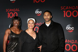 Norm Nixon Photo - Lauren Anderson Debbie Allen Norm Nixon Jrat the Scandal 100th Show Party Fig  Olive Restaurant West Hollywood CA 04-08-17