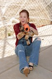 Bow Wow Photo - Amy Davidsonat the Fourth Annual Much Love Animal Rescue Bow Wow Ween Barrington Dog Park Los Angeles CA 10-30-05