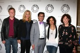 Sara Gilbert Photo - Don Roos Lisa Kudrow Dan Bucatinsky Sara Gilbert Lily Tomlinat The Paley Center Presents An Evening With Web Therapy Paley Center for Media Beverly Hills CA 07-16-13