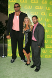 Dalip Singh Photo - Dalip Singh with Ashley Massaro and Shawn Daivariat The CW Launch Party WB Main Lot Burbank CA 09-18-06