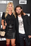 Jennifer Akerman Photo - Jennifer Akerman Tom Payneat AMCs Special Edition of Talking Dead Hollywood Forever Cemetery Los Angeles CA 10-23-16