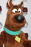 Scooby Doo Photo - LOS ANGELES - APR 12  Scooby-Doo arrives at Warner Brothers Television Out of the Box Exhibit Launch at Paley Center for Media on April 12 2012 in Beverly Hills CA