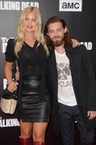 Jennifer Akerman Photo - LOS ANGELES - OCT 23  Jennifer Akerman Tom Payne at the AMCs Special Edition of Talking Dead at Hollywood Forever Cemetary on October 23 2016 in Los Angeles CA