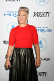 Alecia Moore Photo - LOS ANGELES - OCT 8  Pink Alecia Moore Hart at the Autism Speaks Celebrity Chef Gala at the Barker Hanger on October 8 2015 in Santa Monica CA