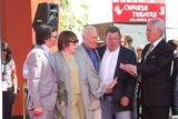 Alex Trebek Photo - LOS ANGELES - MAR 27  Ben Mankiewicz Shirley MacLaine Christopher Plummer William Shatner Alex Trebek at the Christopher Plummer Hand and Foot Print Ceremony at the TCL Chinese Theater on March 27 2015 in Los Angeles CA