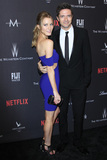 Ashley Hinshaw Photo - LOS ANGELES - JAN 8  Ashley Hinshaw Topher Grace at the Weinstein And Netflix Golden Globes After Party at Beverly Hilton Hotel Adjacent on January 8 2017 in Beverly Hills CA