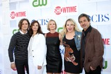 AJ Cook Photo - LOS ANGELES - JUL 29  Matthew Gray Gubler Jeanne Tripplehorn AJ Cook Kirsten Vangsness Joe Mantegna arrives at the CBS CW and Showtime 2012 Summer TCA party at Beverly Hilton Hotel Adjacent Parking Lot on July 29 2012 in Beverly Hills CA