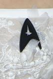 Anton Yelchin Photo - LOS ANGELES - JUL 20  Sofia Boutellas Black Starfleet delta badge worn in tribute to Anton Yelchin at the Star Trek Beyond World Premiere at the Embarcadero Marina on July 20 2016 in San Diego CA