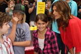 Presley Gerber Photo - Nolan Gould  Cindy Crawford Presley Gerber And Kaya Gerberat the West Coast Debut of Alexs Lemonade Stand to benefit childrens cancer researchMademe Tussauds HollywoodLos Angeles CAJune 12 2010