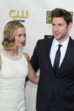 Emily Blunt Photo - LOS ANGELES - JAN 10  Emily Blunt John Krasinski arrives at the 18th Annual Critics Choice Movie Awards at Barker Hanger on January 10 2013 in Santa Monica CA