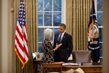 Kathleen Sebelius Photo - OBAMA AND SEBELIUSUnited States President Barack Obama talks with Health and Human Services Secretary Kathleen Sebelius in the Oval Office November 4 2010 Photo by Pete SouzaWhite House via CNP-PHOTOlinknet