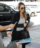 Jessica Alba Photo - Photo by gotpapstarmaxinccomSTAR MAX2017ALL RIGHTS RESERVEDTelephoneFax (212) 995-119641617Jessica Alba is seen at LAX Airport in Los Angeles CA
