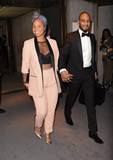 Alicia Keys Photo - Photo by KGC-195starmaxinccomSTAR MAX2016ALL RIGHTS RESERVEDTelephoneFax (212) 995-11969716Alicia Keys and Swizz Beatz at New York Fashion Week(NYC)