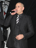 Ana Carolina da Fonseca Photo - Rapper Pitbull (aka Armando Christian Perez) celebrates his 30th birthday at Play nightclub with friends that included Mexican pop singer Cristian Castro former Major League Baseball player Sammy Sosa Brazilian-born actress Ana Carolina da Fonseca who surprised Pitbull when she walked out of a giant faux cake and Latin pop singer and actor Jencarlos Canela  Pitbull appeared to be in a great mood as he kissed and hugged Ana Carolina stuck out his tongue and posed with a comical sculpture of himself Pictured Pitbull Miami FL 011511