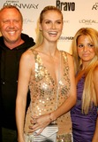 Alexandra Vidal Photo - Michael Kors Heidi Klum and Alexandra Vidal (Project Runway Contestant) Arriving at a Launch Party For Bravos Project Runway at Pm Lounge in New York City on 11-30-2004 Photo by Henry McgeeGlobe Photos Inc 2004