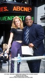 Lea Thompson Photo -  Broadway on Broadway Annual Free Outdoor Concert Time Sq NYC 09102000 Lea Thompson and AL Roker Photo by Henry McgeeGlobe Photosinc